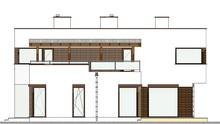 Планування шикарного будинку з трьома величезними спальнями
