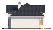 Проект стильного котеджу з гаражем для двох автомобілів