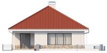 Проект світлого одноповерхового будинку 10 на 12 метрів