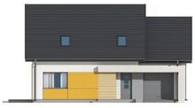Сучасний проект будинку з мансардою 10 на 12 метрів