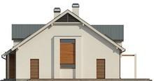 Проект будинку з мансардою та гаражем на 200 m²