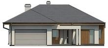 Проект стильного практичного одноповерхового будинку