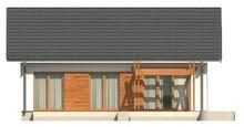 Проект одноповерхового будинку в класичному стилі