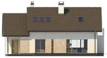Проект будинку з гаражем на 190 m²