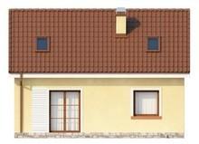 Проект класичного будинку з двосхилим дахом