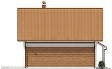 Проект невеликого будинку з кабінетом на першому поверсі