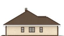 Проект будинку з фронтальним гаражем для двох автомобілів