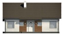 Проект одноповерхового міського котеджу в традиційному стилі