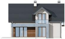 Проект будинку з сучасними елементами