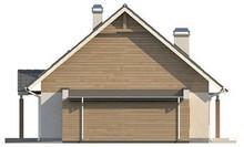 Проект 2-х поверхового котеджу з гаражем