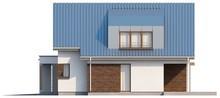 Проект оригінального будинку з мансардою