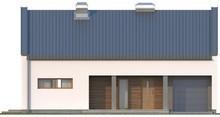 Проект будинку з оригінальним дахом