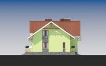 Стильний одноповерховий будинок з мансардою