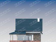 Просторий заміський котедж з цегляним фасадом