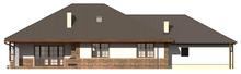 Проект великого будинку з мансардою і гаражем