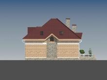 Котедж в англійському стилі з цегляним фасадом