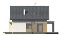Версія проекту будинку 4M116 з гаражем