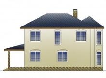 Респектабельний котедж з вітражними вікнами