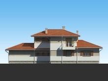Проект двоповерхового розкішного особняка до 300 m²