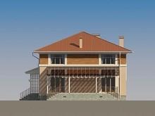 Проект сучасного квадратного будинку з усіма зручностями