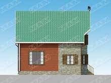 Архітектурний проект невеликого будинку площею 150 m²