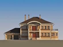 Проект вишуканого котеджу для великої родини