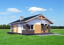 Невеличкий будиночок з площею 80 m²