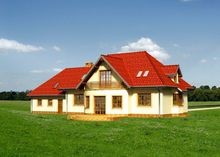 Проект великої вілли з площею 420 m²