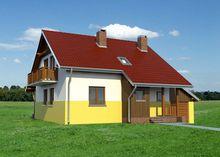 Гарненький будинок з площею 160 m² для великої родини