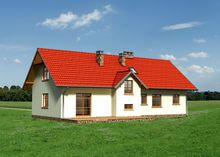 Гарний заміський будиночок в середземноморському стилі