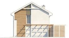 Проект двоповерхового економ будинку