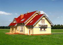 Чудовий проект особняка з мансардою площею до 200 m²
