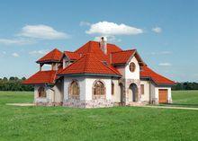 Цікавий житловий будинок, що нагадує замок