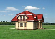 Стильна двоповерхова будова з шістьма особистими кімнатами