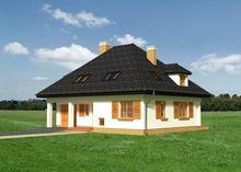 Двоповерховий житловий будинок з окремою кухнею