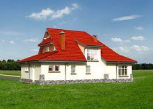 Незвичайний житловий будинок, що нагадує замок