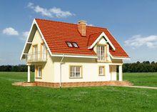 Милий будинок з напівкруглими терасами