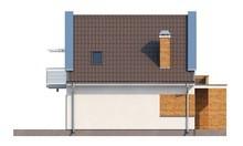 Проект невеликого будинку з мансардою на 110 m²