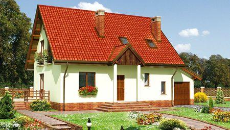 Мальовничий будинок з високим ганком і терасою