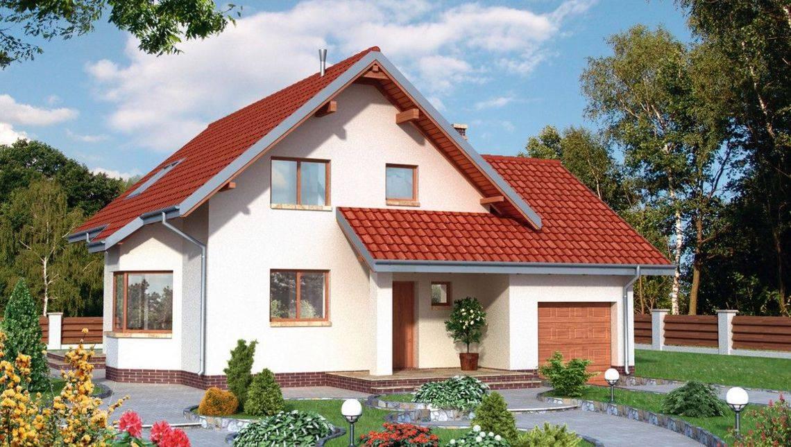 Гарний проект будинку з габаритами 12 на 12