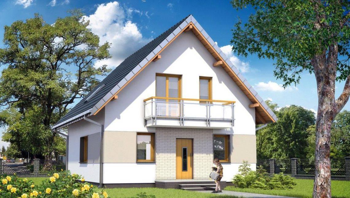 Проект гарної заміської садиби з площею 120 m²