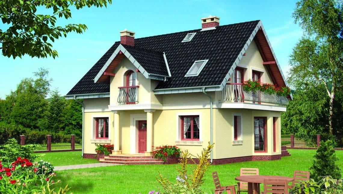 Архітектурний проект заміського будинку з сімома спальнями та вражаючими балконами