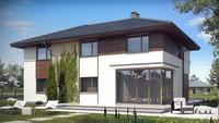 Проект двоповерхового котеджу з додатковими спальнями