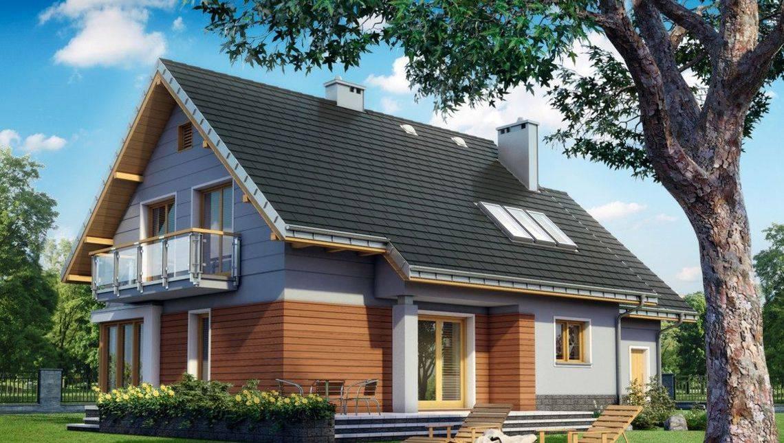Гарний заміський будинок з великою та зручною терасою