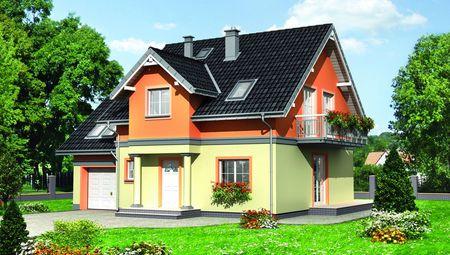 Проект компактного котеджу 170 m²