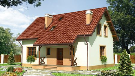 Затишний двоповерховий будинок з класичним екстер'єром
