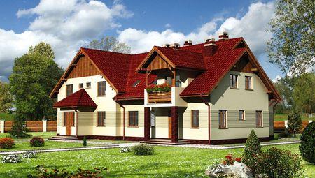 Проект чудового особняка площею 390 кв.м з дев'ятьма спальнями