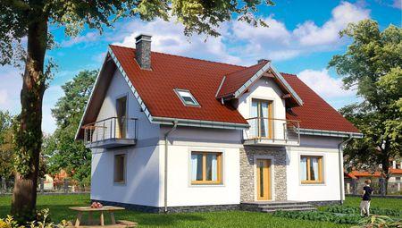 Будинок прямокутної форми 9 на 12
