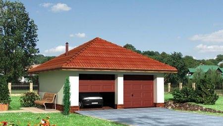 Архітектурний проект гаража на 2 машини