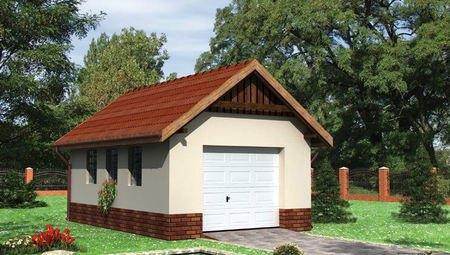 Архітектурний проект гаража 6м на 4м